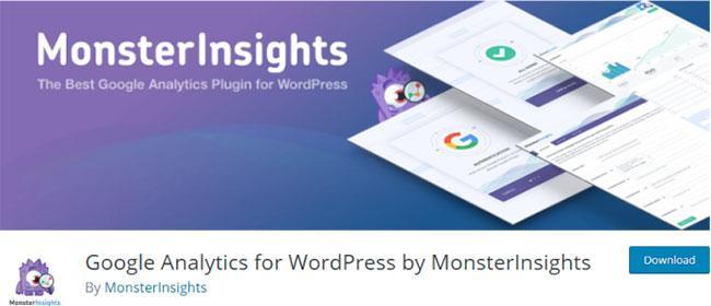 최고의 WordPress-plugins-MonsterInsights 배너
