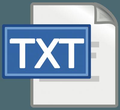 srt to txt file